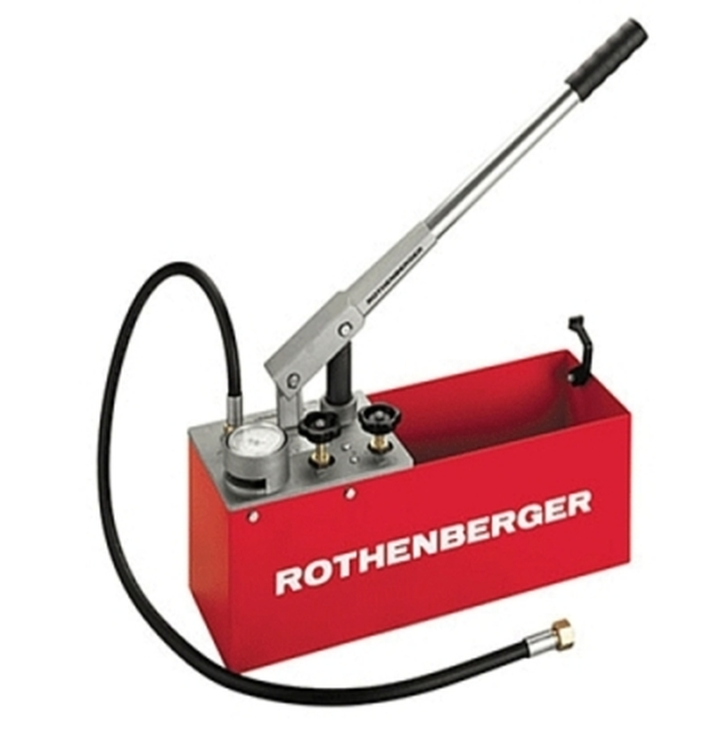 Bomba de teste hidráulico com reservátorio de 12 litros - RP50 - Rothenberger
