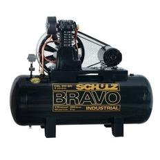 Compressor de ar de Pistão Alta pressão 20 pés 200 litros trifásico