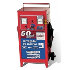 Carregador de bateria 50A - 6/12V / 25A - 24V