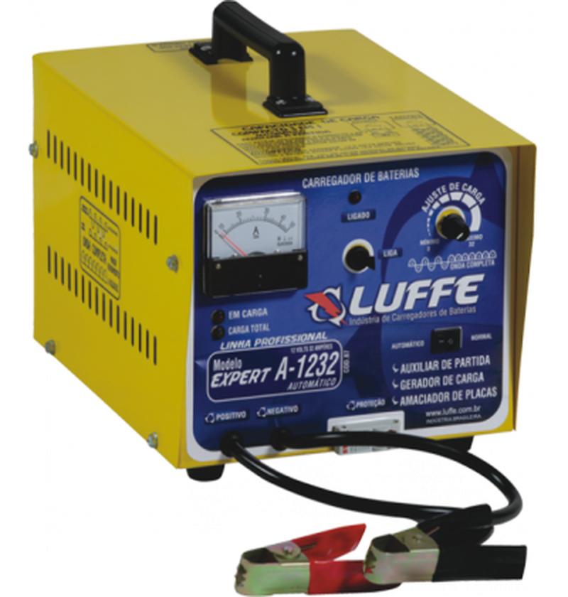Carregador de bateria EXPERT A-1232 AUTOMÁTICO LUFFE
