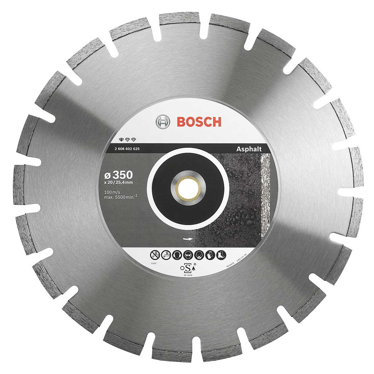 Disco Diamantado para Asfalto Professional 350mm BOSCH