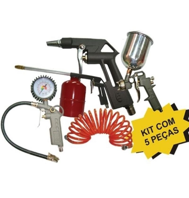 Kit P/ Compressor MOTO PRESS 5PÇS Pressure