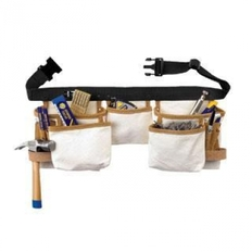 Cinturão de Ferramentas em Lona com 10 bolsos Recursos: