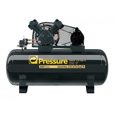 Compressor de ar Ônix  15/180 V 3HP 180 litros mono