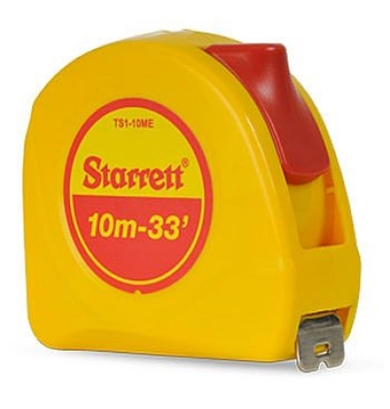 Trena 10M KTS1-10ME de Bolso Amarela STARRETT