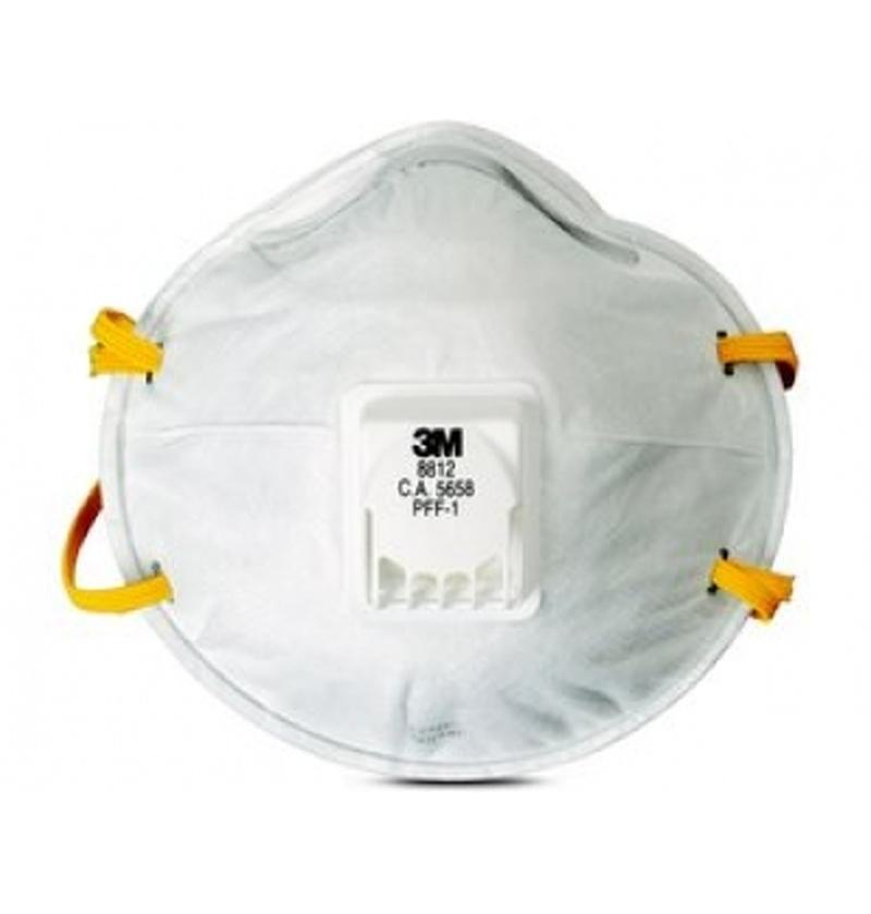 Respirador Descartável c/ válvula PFF2 Mod. 8812