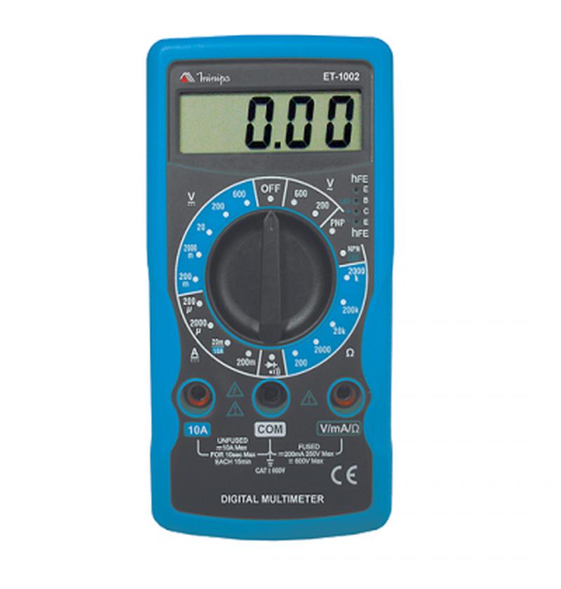 Multímetro Digital ET-1002