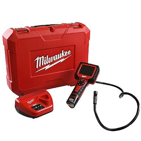 Câmera multimídia de inspeção a bateria de lítio 12v MILWAUKEE