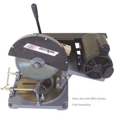 Serra de Cortar Alumínio C/ Motor 1 HP 220V Mono