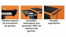 Carro para Ferramentas 6 Gavetas Advantage Series TRAMONTINA-PRO