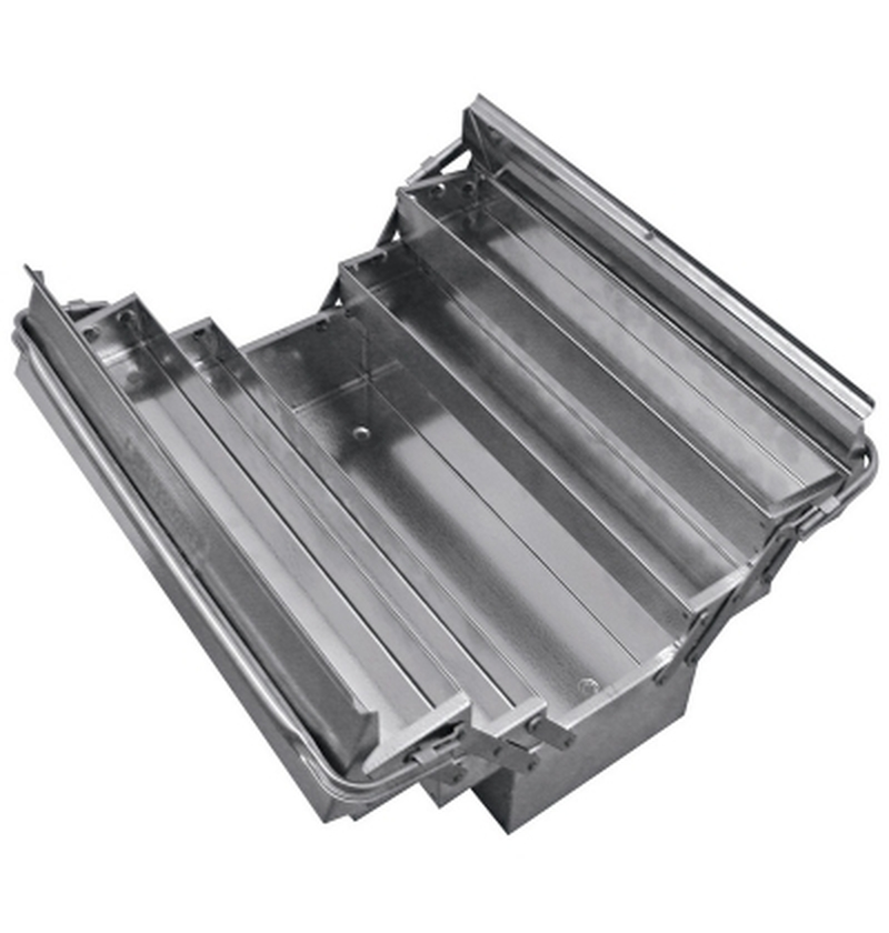 Caixa de inox para ferramentas 5 gavetas com alças flexíveis  TRAMONTINA-PRO