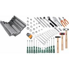 Caixa Inox 5 gavetas com Ferramentas 65 peças TRAMONTINA-PRO