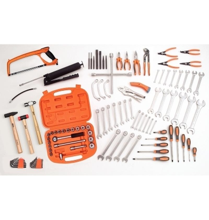 Composição para manutenção mecânica 107 peças TRAMONTINA-PRO