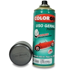 Tinta Spray 400 ML Grafite Médio p/ Rodas Colorgin