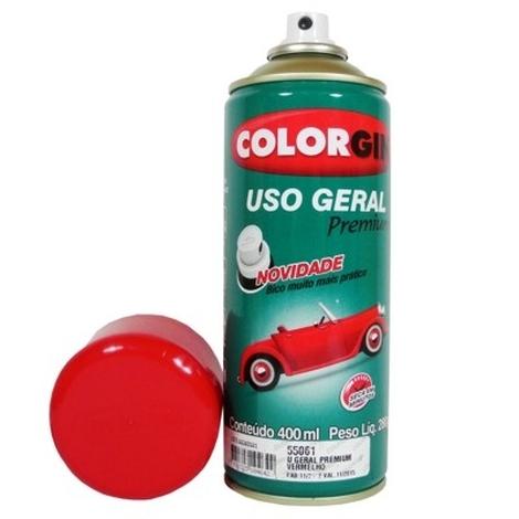 Tinta Spray 400 ML Vermelho Colorgin
