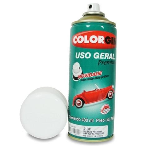 Tinta Spray 400 ML Branco Acabamento Colorgin