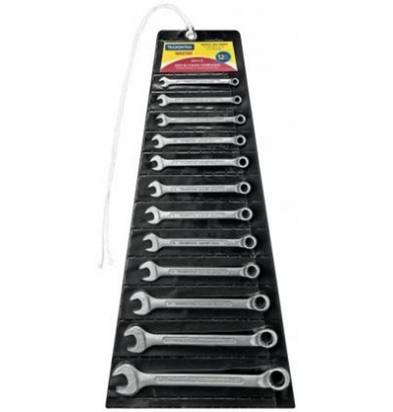 Jogo de Chaves Combinadas 6 a 22 mm - 12 Pçs