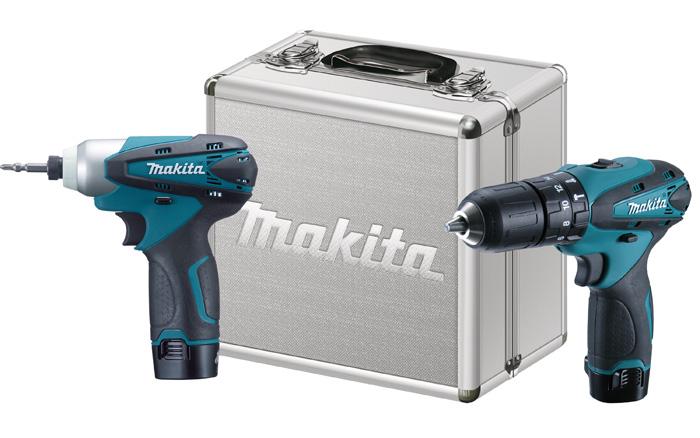 Kit DK1493 com Furad/Paraf de HP330DWE e Paraf de Impacto TD090DWE Bivolt Makita
