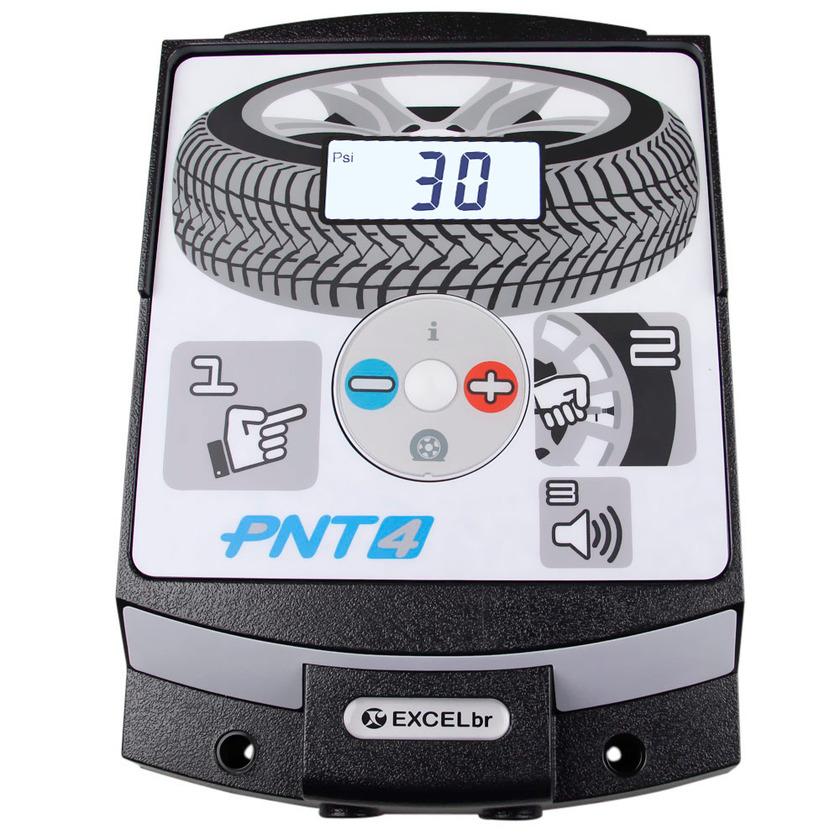 Calibrador de pneu eletrônico PNT IV EXCELBR