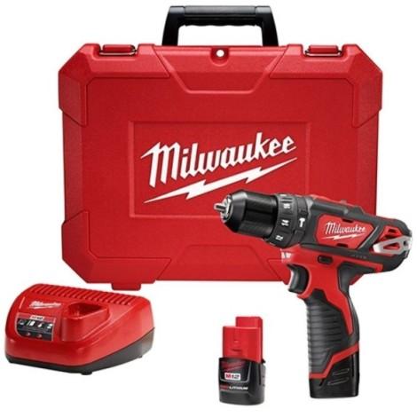 Parafusadeira/Furadeira com Impacto à Bateria 2408-259 Milwaukee