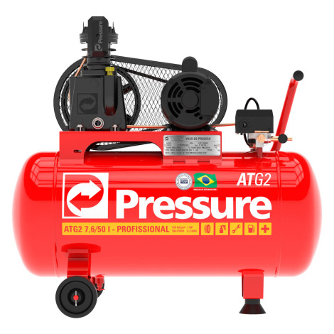Compressor 10PCM V 50LTS ATG2 MOVEL Monofásico PRESSURE