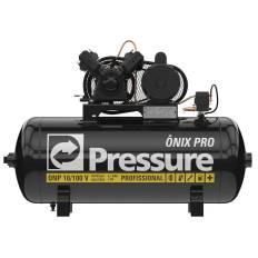 Compressor Onix 10pcm 100 litros 140 libras Mono PRESSURE
