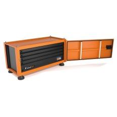 Caixa Para Ferramentas Pickup Box c/ 145 Pecas Tramontina 44957/145