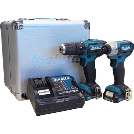 Combo de Ferramentas à Bateria CLX228SAX - HP333D + TD110D MAKITA