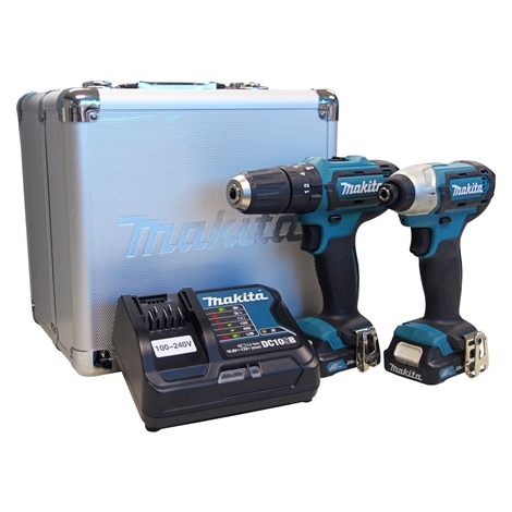 Combo de Ferramentas à Bateria CLX202SAX - HP331D + TD110D MAKITA