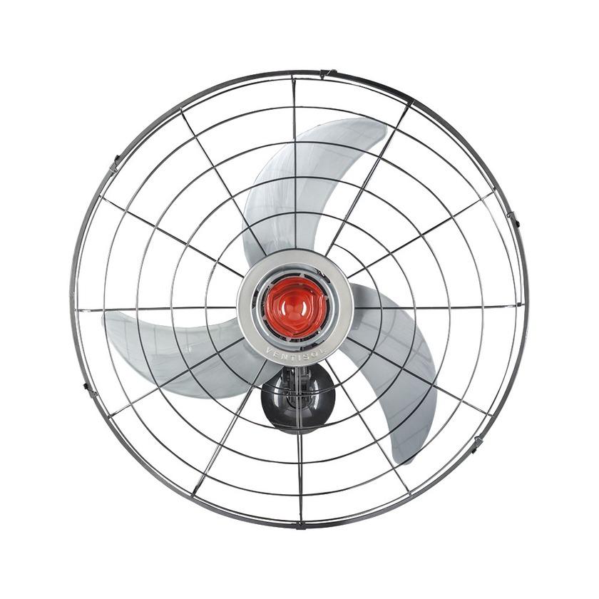 Ventilador de Parede Grade Aço 70cm 230W Bivolt - Ventisol-4201