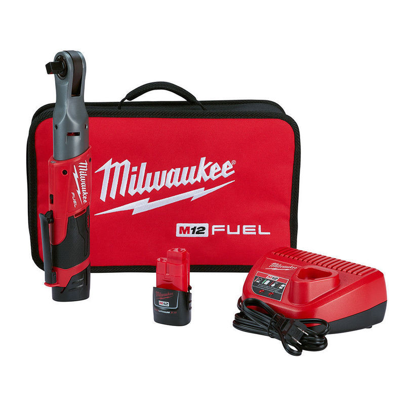Chave Catraca 1/2 A Bateria 2558-22 M12 Fuel Milwaukee