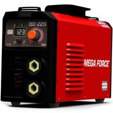 Maquina De Solda Inversora Mega Force 225a Bivolt Lincoln