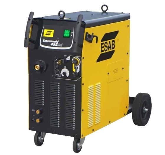 Máquina de Solda MIG/MAG Smashweld 455 4x4 400A 19,9kVA 220/380/440V