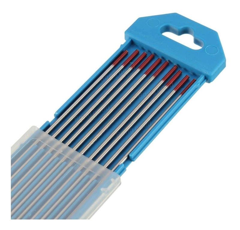 Eletrodos de Tugstênio c/ponta torio 1.6mm (1/16