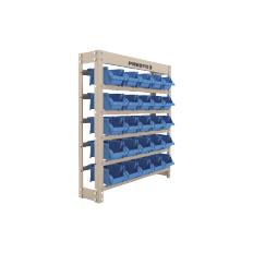 Kit Estante gaveteiro 25/3 Prática Azul